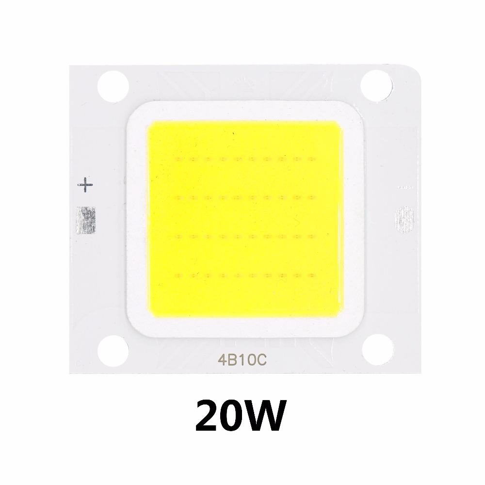 10W 20W 30W 50W 70W 100W High Power LED Chip COB LED SMD diodų, Skirtas Prožektorius Prožektorius Lemputes Flip chip